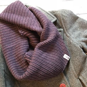 The North Face knit infinity scarf